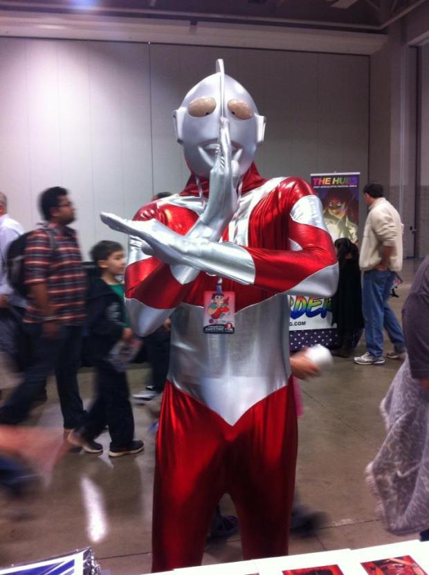 Ultraman! (AKA Philip the Shy Guy Cosplay)