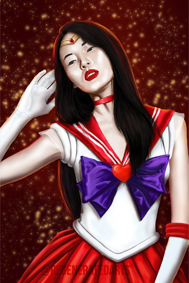 Sailor Mars web