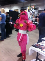 AWESOME Pink Ranger!