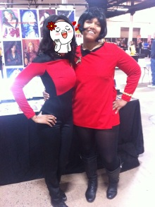 Me and Uhura!