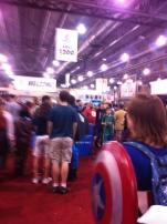 Intimidating crowds!