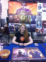 Rachel Perciphone's first comic con!