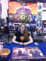 Rachel Perciphone's first comic con!