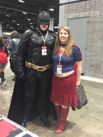 Awesome Costumes! Batman had the Christian Bale voice, hehe!