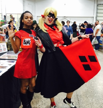 Me with an amazing Harley Quinn!