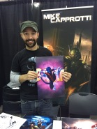 Mike Capprotti signed the Nightcrawler print I bought! http://bit.ly/1TVAHup