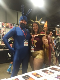 The Tick & Captain Liberty!