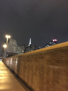 A quick glimpse at the Empire State Building