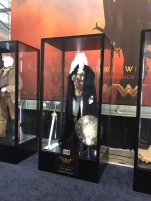 Very exciting seeing the costumes from the Wonder Woman movie!