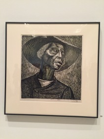 """Sharecropper"", Elizabeth Catlett; A very familiar piece for me."